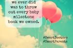 baby milestone books