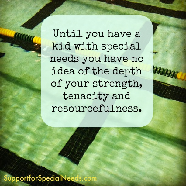 depth and strength special needs