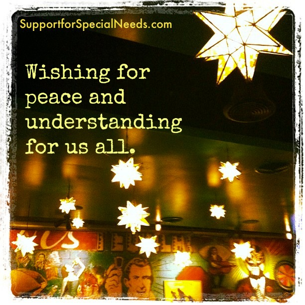 peace and understanding special needs