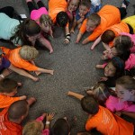 A picture of all campers with upper limb differences during the 2014 Missouri camp