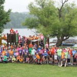A full shot of all campers who attended the Missouri Camp No Limits.