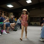 Jordan during this summer's Camp No Limits fashion show. Camp helps kids feel incredibly confident!